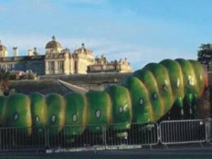 Caterpillar Bionic Art Creation