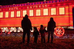 Polar Express Silk Train